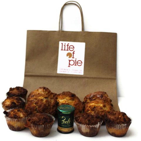 Life of Pie Break Time gift bag
